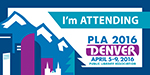 PLA 2016 I'm Attending Small Badge