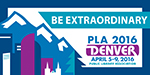 PLA 2016 Be Extraordinary Small Badge