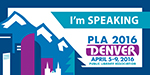 PLA 2016 I'm Small Speaking Badge